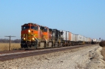 BNSF 4581 westbound